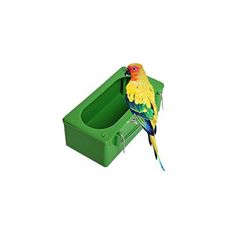 Cxssxling - Bottiglia per Acqua per pappagalli, pappagallini, pappagallini, calopsitte, Conure, inseparabili, Gabbia