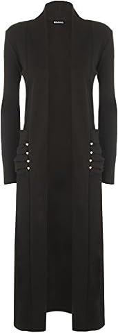 Manteau Brillant - WearAll - Femme Manches longues Cadrage en