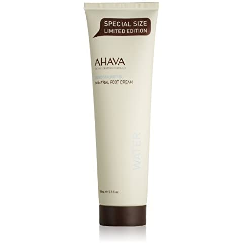 AHAVA Dead Sea Water Mineral Foot Cream, 5.1 fl. oz. SHIPPING PRODUCTS IN 5 TO 7 BUSINESS DAYS by QUEEN OF SHEBA-ORIGINAL PRODUCTS FROM ISRAEL