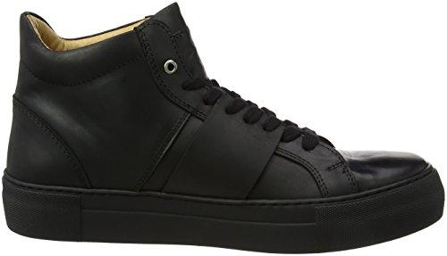 Won Hundred Shoes Herren Weimara_ankle Sneaker Black (colore Scarpa Nero)