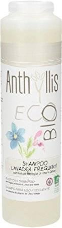 ANTHYLLIS Shampoo Lavaggi Frequenti - Detergenza lenitiva con estratto di lino e ortica - Adatto a soggetti allergici - Aroma di anice stellato - Nickel, cromo e cobalto tested - 250ml