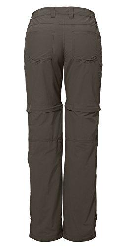 Vaude Farley IV - Femme - ZO vert (Taille cadre: 48) pantalon zip Marron - Vert kaki