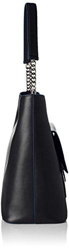 Hugo Philippa-m 10193730 01, Sacs Portés Épaule Femme, Taille Unique Noir (Black)