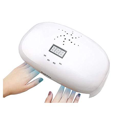 LED UV Lámpara uñas 78W Secador uñas Todos Gel