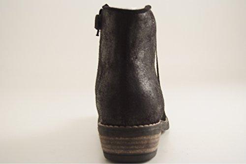 Basilio Peau Reqins Noir Boots Noir SdXdxRZ