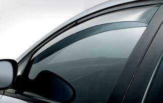 Front Wind Deflectors for VW GOLF MK5 2003 to 2007 3-Door 2-pc TINTED