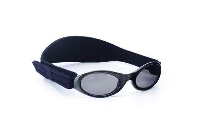 Yoccoes designs - Lunettes de soleil - Bébé (garçon) 0 à 24 mois multicolore Black sunglasses, green case