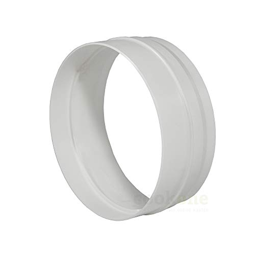 EASYTEC® Innenverbinder Ø 148 mm für Ø 150 mm Rohre und Schläuche | Rohrverbinder Schlauchverbinder Verbindungsstück 150mm -