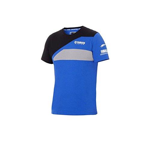 Yamaha -  T-Shirt - Uomo Blu L