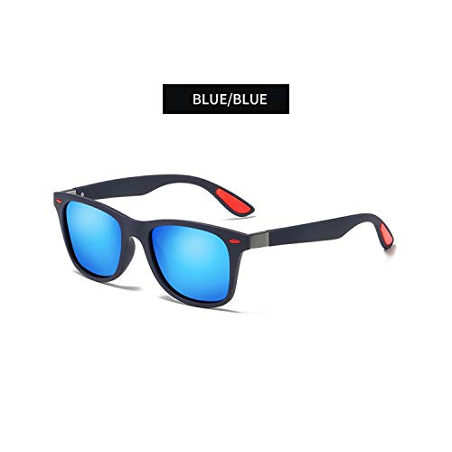 Sportbrillen, Angeln Golfbrille,BRAND DESIGN Classic Polarisiert Sunglasses Men Women Driving Square Frame Sun Glasses Male Goggle UV400 Gafas De Sol Sun Glasses C3