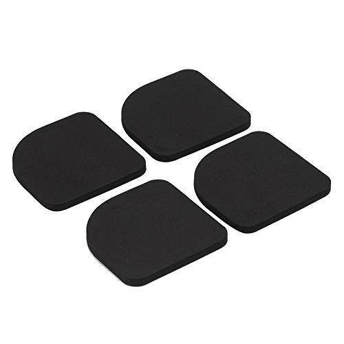 Chirsemey Stoßdämpfende Unterlegscheiben Pads Vibration reduzieren Rutschfeste stoßfeste Unterlage stille Baumwolle Eva-Schaummatte für Waschmaschine Kühlschrank (Silent Feet-anti-vibration)