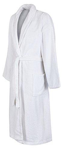 John Christian uomo Luxus l'accappatoio - 100% cotone (spugna) - bianco Bianco