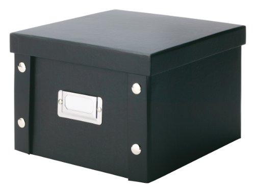 zeller-17943-contenitore-per-dvd-in-cartone-21-x-20-x-15-cm-colore-nero