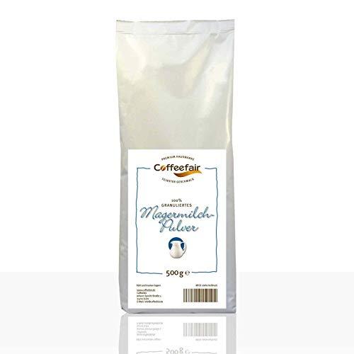 Coffeefair Magermilchpulver 100% granuliert 500g | Automatengängiges Milchpulver