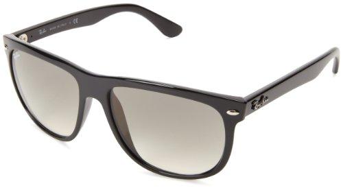 Ray Ban Unisex Sonnenbrille RB4147, (Gestell: Schwarz, Gläser: Polarized Grün Klassisch 601/58), Large (Herstellergröße: 56)