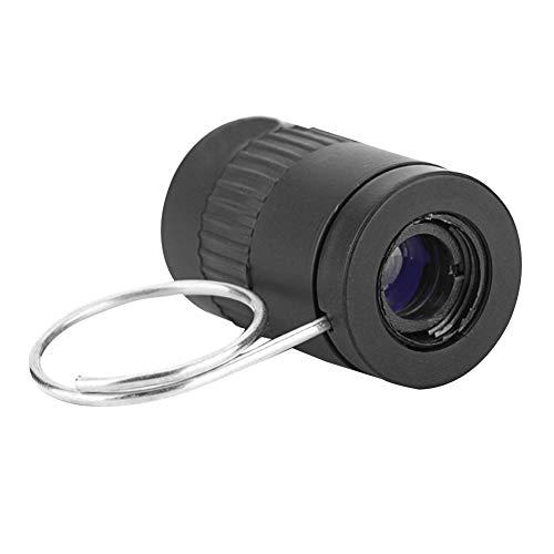 Mini telescopio, práctico pulgar de bolsillo pequeño monocular de alta definición lente óptica telescopio para camping al aire libre deportes caza y más Tamaño libre Blue Film