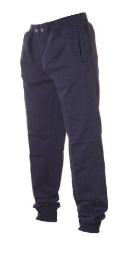 Urban Classics -  Pantaloni sportivi  - Basic - Uomo Blu - blu navy