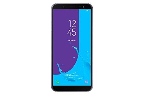 Samsung Galaxy J6 (2018) Smartphone, Lavender, 32 GB Espandibili, Dual Sim [Versione Italiana]