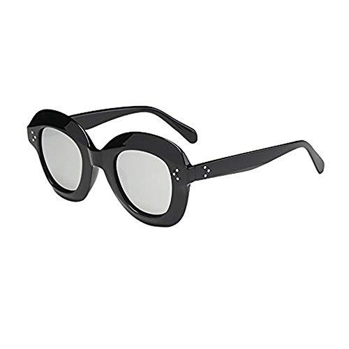 Syeytx Frauen Mann Vintage Cat Eye Big Rahmen Sonnenbrille Retro Cool Travel Eyewear Fashion
