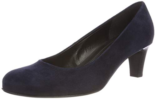 Gabor Shoes Damen Basic Pumps, Blau (River 46), 43 EU