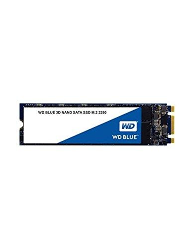 WD Blue 3D NAND M2 250GB. Interne NAND SATA III-SSD, 6 Gbit/s 2,5 Zoll (7mm) Festplatte von Western Digital. Verbesserte Energieeffizienz. Optimiert für Multitasking und ressourcenintensive Anwendungen WDS250G2B0B