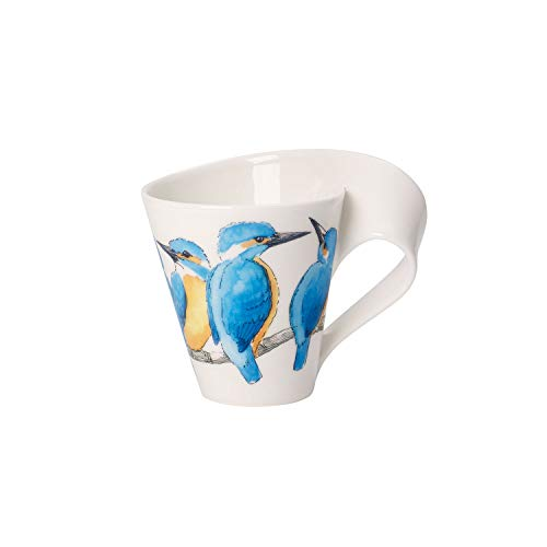 Villeroy & Boch NewWave Caffè Kaffeebecher (Geschenkkarton), Premium Porzellan Villeroy & Boch New Wave