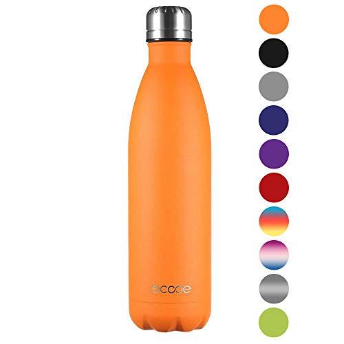 Ecooe Thermosflasche 750ml Doppelwandig Trinkflasche Edelstahl...