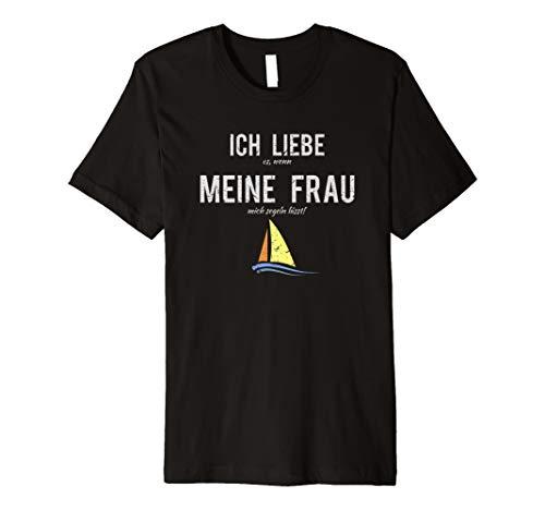 Kapitän TShirt Männer Segeln Regatta Geschenk Lustiges Shirt