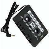 L&C�CAR AUDIO TAPE CASSETTE ADAPTER IPHONE IPOD MP3 CD RADIO NANO 3.5mm JACK AUX