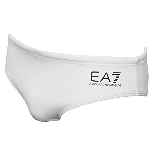 Emporio Armani Slip de Bain EA7 Sea World Core Homme Blanc
