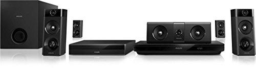 Philips HTB5520/94 5.1 3D Blu-Ray Home theatre (Black)