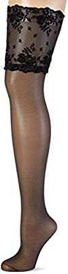 Palmers Women's Stay Alpen Lace Hold-Up Stockings, 20 Den