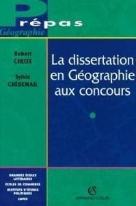 Dissertation en géographie aux concours