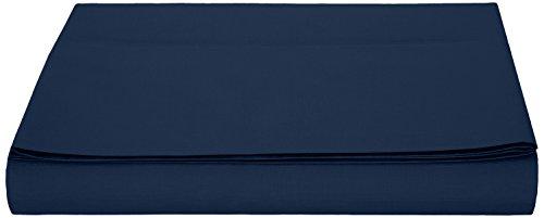 AmazonBasics - Hoja de Microfibra, 280 x 320cm - Azul Marino