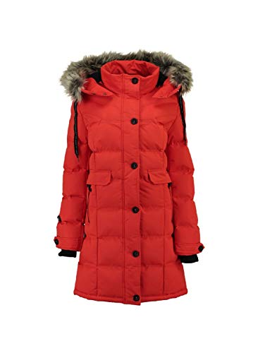 Geographical Norway - Doudoune Femme Calory Corail-Taille - 1