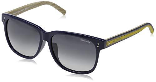 Tommy Hilfiger Unisex-Erwachsene 762753747235 Sonnenbrille, Blau, 57