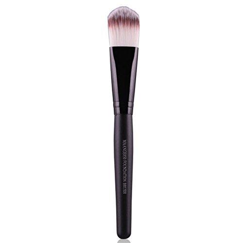 Domybest multifonction Cosmétique Brosse Maquillage Fond de teint poudre Brosse BB Crème (Noir)