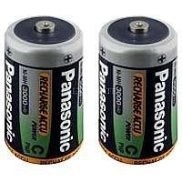 Panasonic P14P Batterie Baby 3000 mAh 2-er Blister