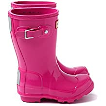 Hunter Original Kids Mid-Calf Rubber Rain Boot