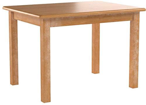 koma Esstisch Küchentisch Speisetisch Kiefer Tisch massiv Restaurant 70 x 100cm Alder Farbe