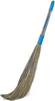 CHAND SURAJ® Stella Eco Friendly Soft Grass Floor Broom Stick for Floor Cleaning (Phool Jhadu/Mop)