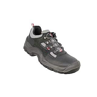 Almar Rapper S3 Safety Shoes Bauschuhe Flat Black B-Stock, Size:42 EU