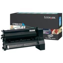 Preisvergleich Produktbild Lexmark C780A1CG C782, X782e Tonerkartusche 6.000 Seiten Rückgabe, cyan
