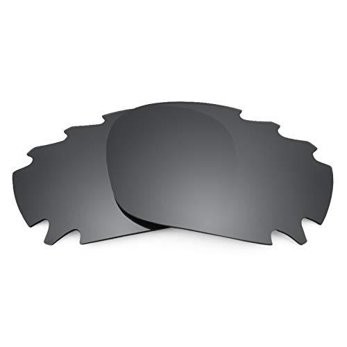 Revant Ersatzlinsen für Oakley Racing Jacket Vented Polarisierung Schwarz Chrom MirrorShield® Asian Fit