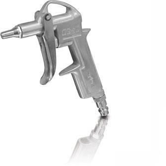 1x Erba Ausblaspistole Druckluftpistole Kurz Version Druckluft Pistole 20006