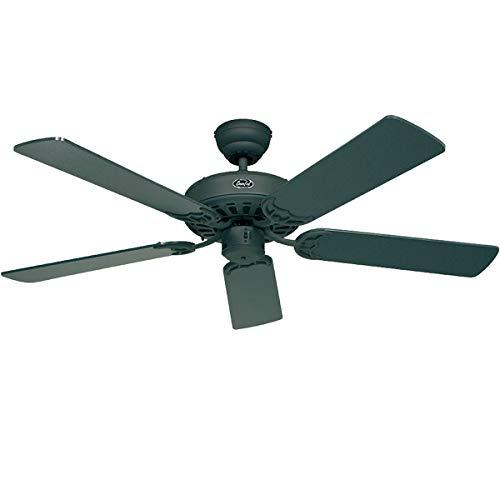 Certeo Ventilateur de plafond CLASSIC ROYAL - Ø hélice 1320 mm - laque graphite - Ventilateur Ventilateur de plafond Ventilateurs Ventilateurs de plafond
