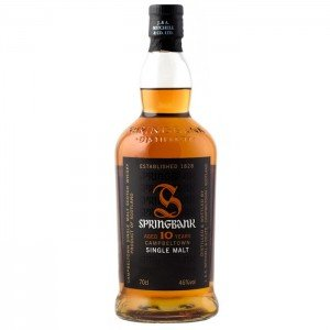 SPRINGBANK 10 YEARS SINGLE MALT