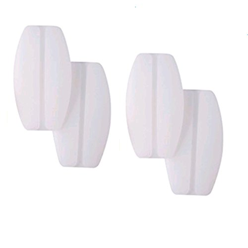 2Paare Westeng BH Schulterpolster BH-Träger Silikonpads Rutschfesten Komfort Druckminderung und Entlastung der Schulter Silikon Weiß (Silikon-polster-bh)