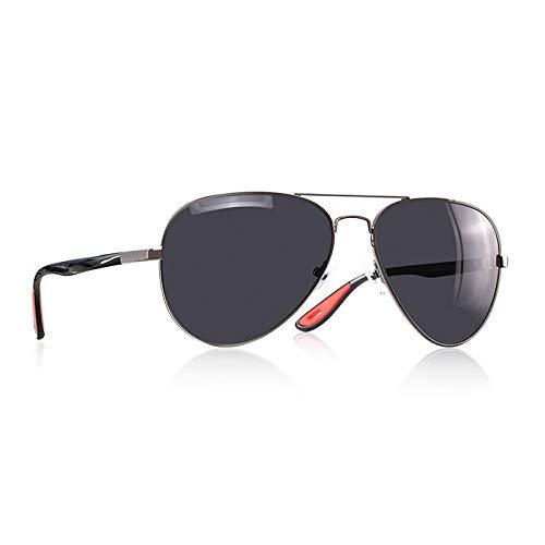 Klassische polarisierte Sonnenbrille Männer Frauen, die Pilot Frame Sun Glasses Male Goggle UV400 AF8186 Fahren