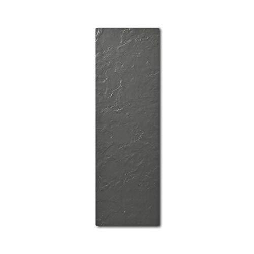 Radiateur vertical TOUCH SILICIUM 800W Ardoise Noire